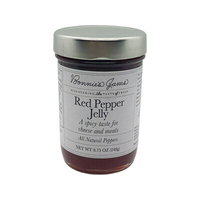 Bonnie's Red Pepper Jelly 8.75oz