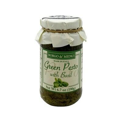 Borgo de' Medici Green Pesto with Basil Italy 6.7oz