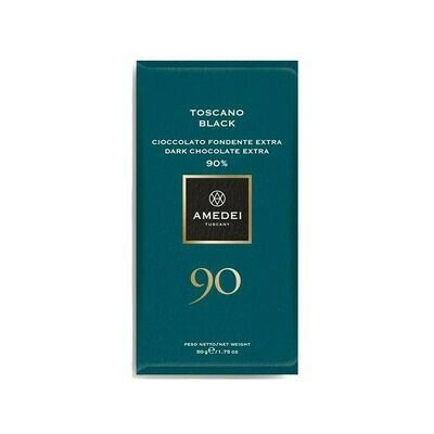 Amedei Toscano Black Chocolate 90% Italy 1.75oz