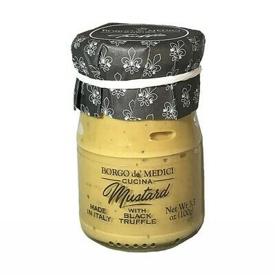 Borgo de' Medici Mustard with Black Truffle Italy 100g