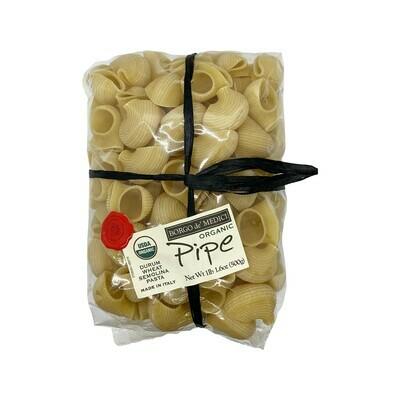 Borgo de' Medici Pipe Durum Wheat Semolina Pasta Italy 500g