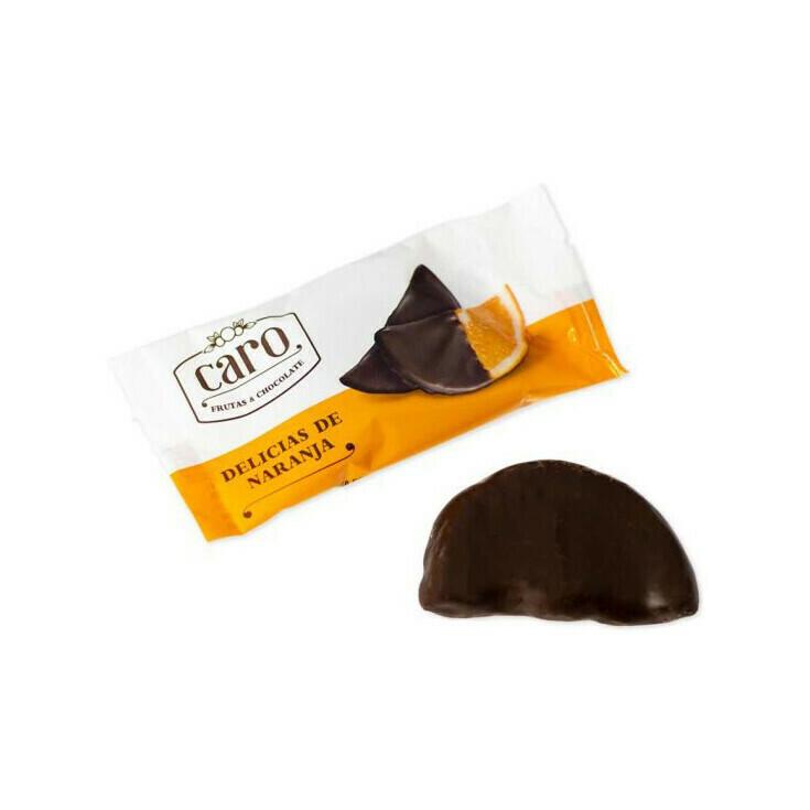 Caro Frutas & Chocolate Orange Delights Spain 1pc