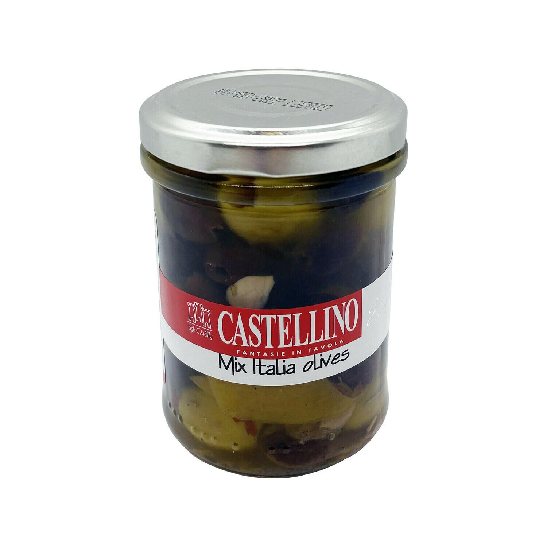 Castellino Mix Italia Olives Italy 6.5oz