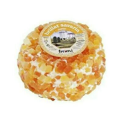 Brillat Savarin Papaya cows soft cheese 7oz France