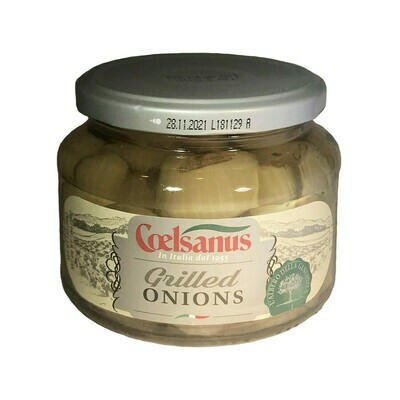 Coelsanus Grilled Onions In Oil Italy 12oz