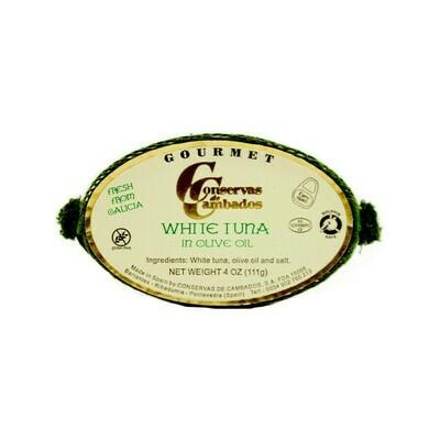 Conservas de Cambados White Tuna in Olive Oil Spain 4oz