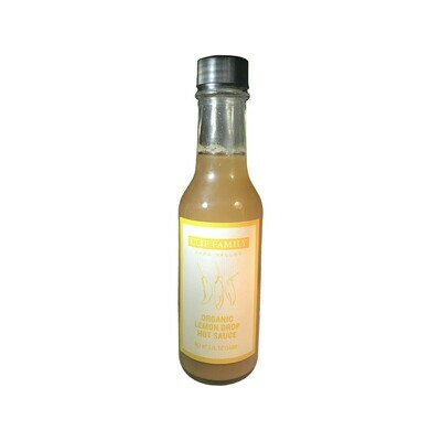 Clif Family Organic Lemon Drop Hot Sauce Napa Valley 5oz