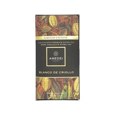 Amedei Blanco de Criollo 70% Darc Chocolate Italy 50g
