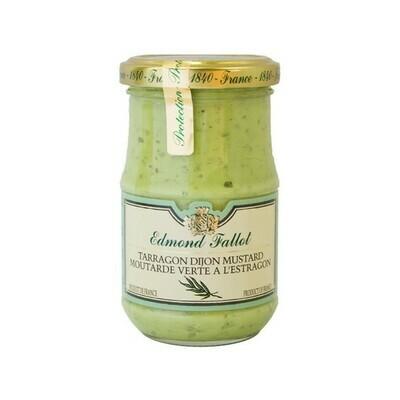 Edmond Fallot Tarragon Dijon Mustard France 7.4oz