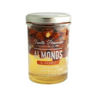 Famille Perronneau Acacia Honey with Almonds France 8.8oz