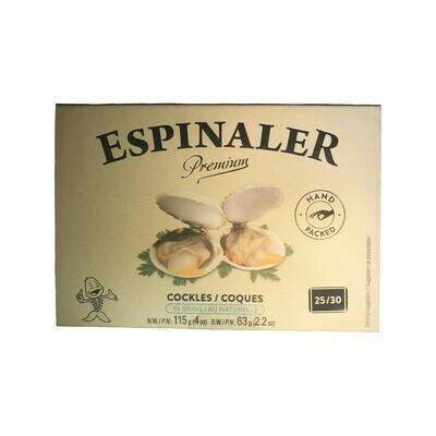 Espinaler Cockles in Brine 25/30 pieces Spain 4oz