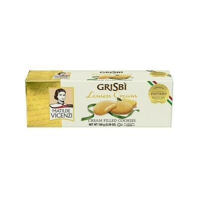 GriSbi Cookies Lemon Cream Italy 5.29oz