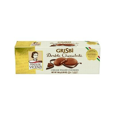 GriSbi Cookies Double Chocolate Italy 5.29oz