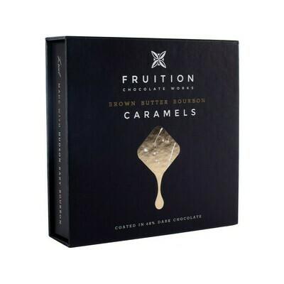 Fruition Brown Butter Bourbon Caramels 9pcs