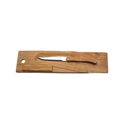 Jean Dubost Baguette/Salami Board & Knife France