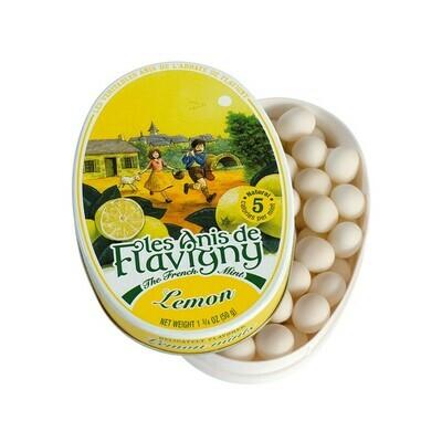 Les Anis de Flavigny All Natural Lemon Flavored Mints France 1.8oz