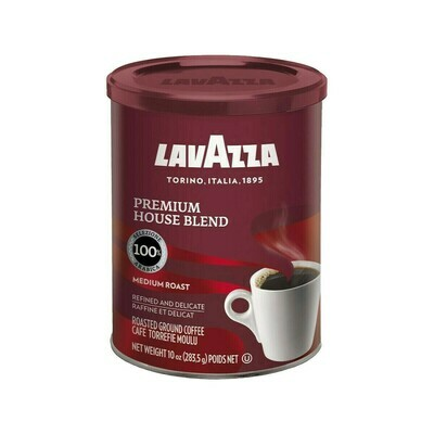 Lavazza Premium House Blend Ground Coffee Italy 10oz