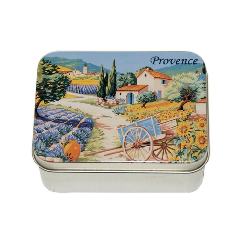 Le Blanc Soap Metal Tin Provence Lavander 3.51oz France