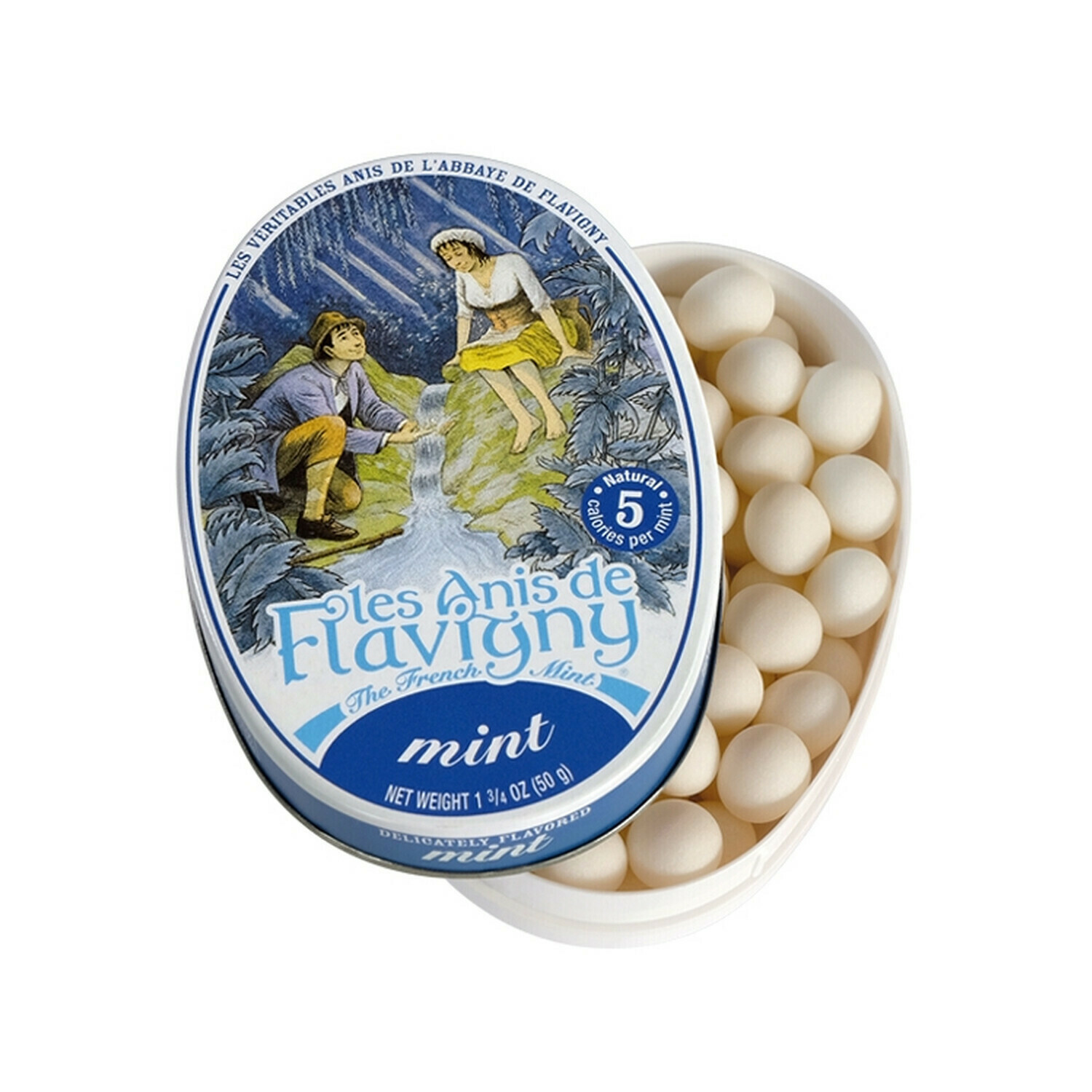 Les Anis de Flavigny Mint Flavored Mints France 1.8oz