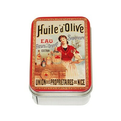 Le Blanc Soap Metal Tin Huile d'Olive Olive Oil 3.51oz France