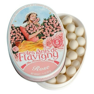 Les Anis Rose Flavored Mints France 1.8oz