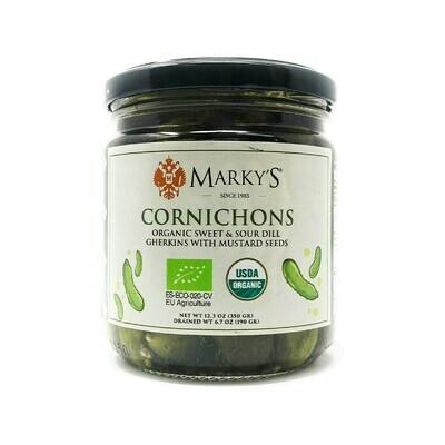 Marky's Cornichons Organic Jar Spain 12.3oz