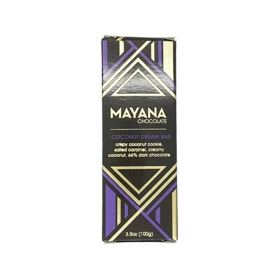 Mayana Coconut Dream Bar Chocolate 3.5oz