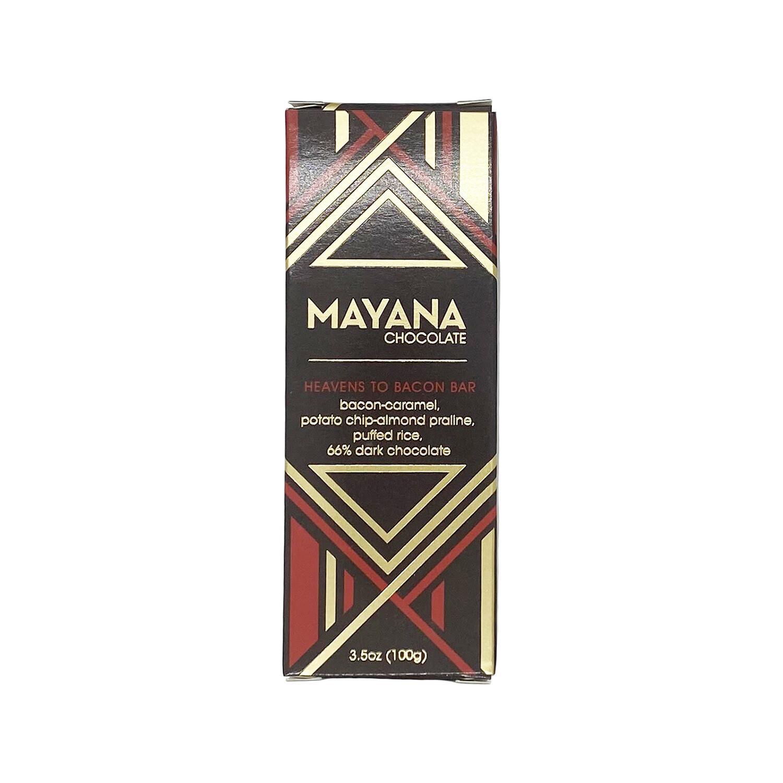 Mayana Heavens to Bacon Bar Chocolate 3.5oz