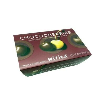 Mitica ChocoCherries Dark Chokolate Candied Cherries Spain 140g