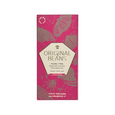Original Beans Piura 75% Chocolate Switzerland 70g