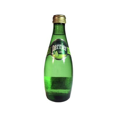 Perrier Lime Sparkling Water France 330ml