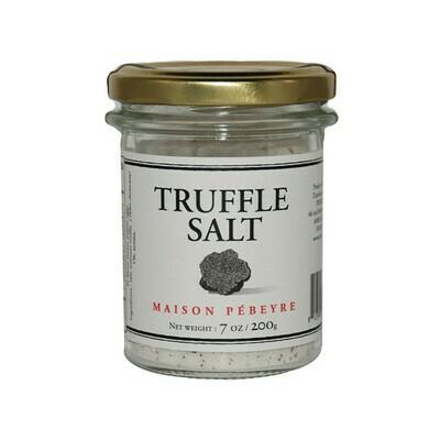 Pebeyre Truffle Flavored Salt Italy 7oz