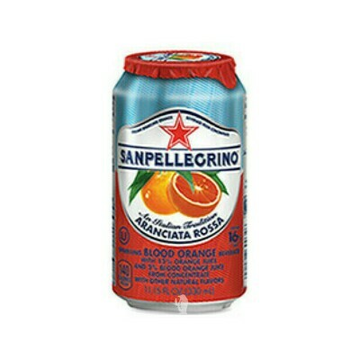 San Pellegrino Sparkling Blood Orange Beverage Aranciata Flavor Italy 11.15oz