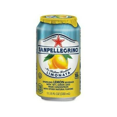 San Pellegrino Sparkling Lemon Beverage Italy 11.15oz