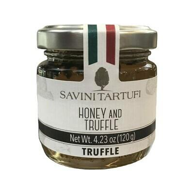 Savini Tartufi White Truffle Honey Italy 4.2 oz