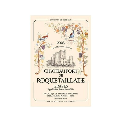 Tea Towel Roquetaillade Torchon France