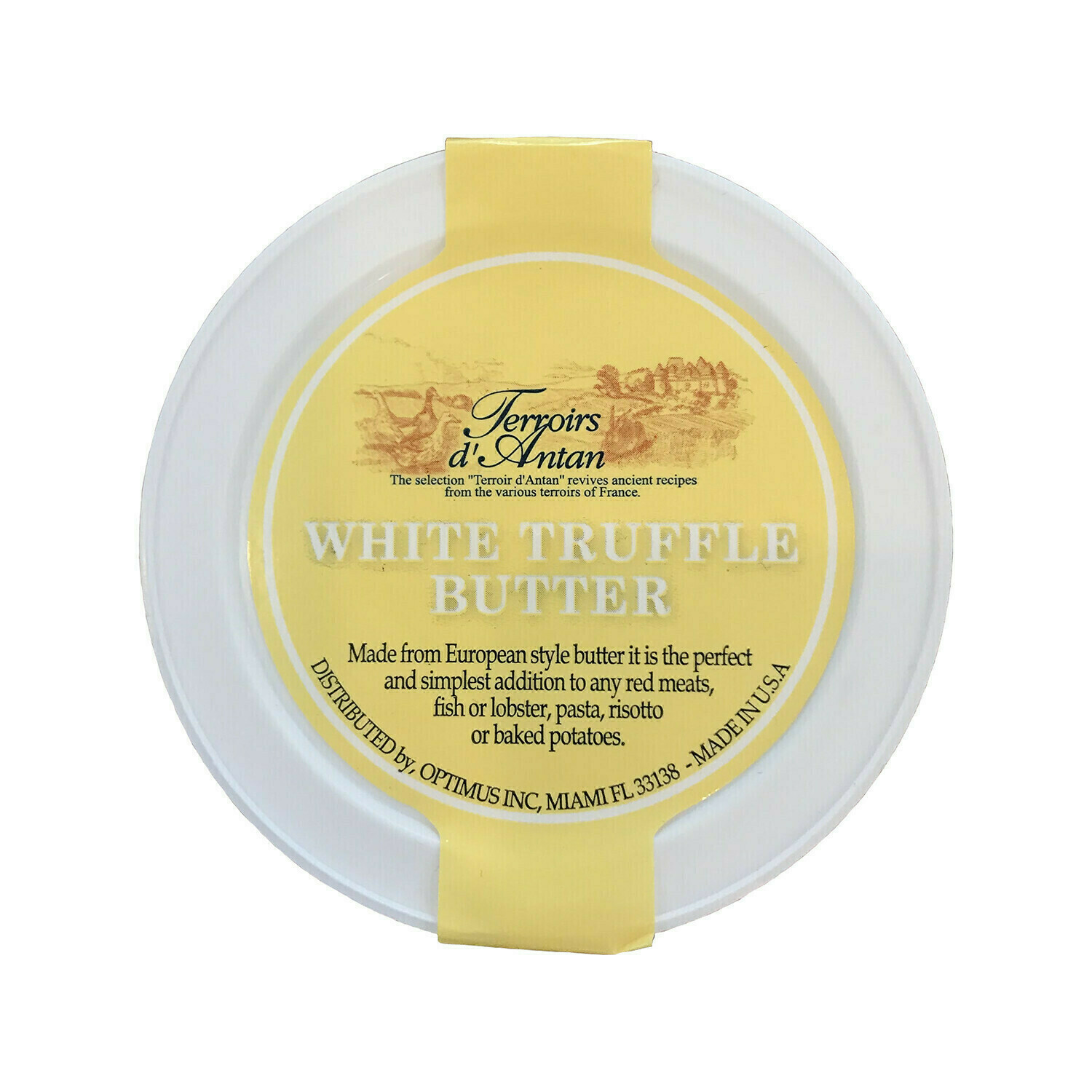 Terroirs d'Antan White Truffle Butter France 3oz