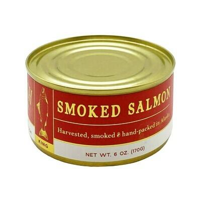 Wildfish Cannery Smoked King Salmon Arkansas 6oz