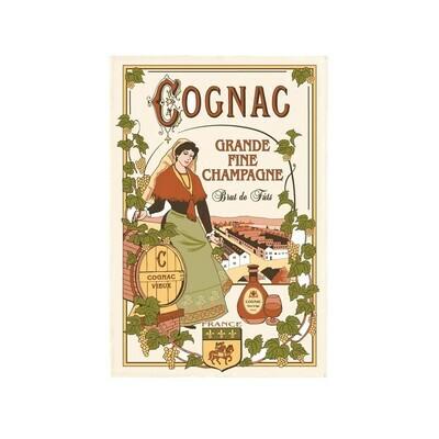Tea Towel Cognac Torchon France