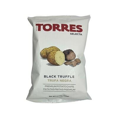 Torres Black Truffle Premium Potato Chips 4.41oz Spain