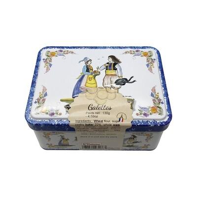 Mini Tin Butter Galettes France 4.59oz
