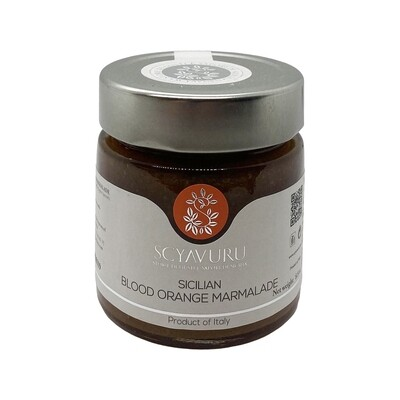 Scyavuru Sicilian Blood Orange Marmalade Italy 8.8oz