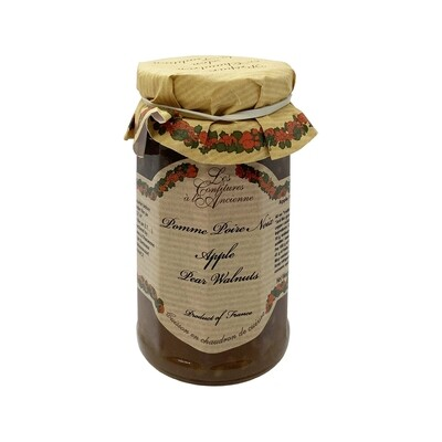 Apple Pear Walnut Jam France 9.52oz