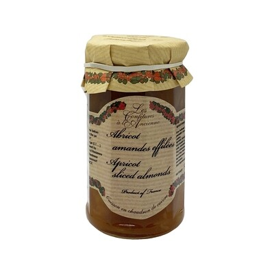 Apricot Sliced Almon Jam France 9.52oz