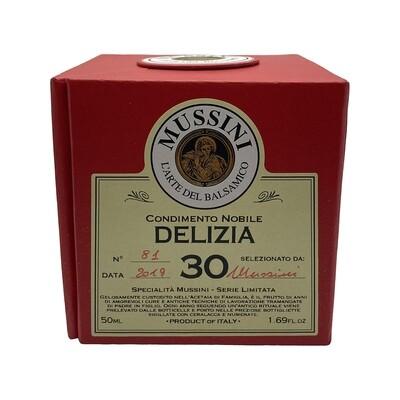 Mussini Delizia 30 Year Balzamic Vinegar Italy 50ml