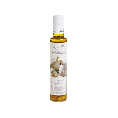 Garlic Infused Extra Virgin Olive Oil Italy 8.5oz