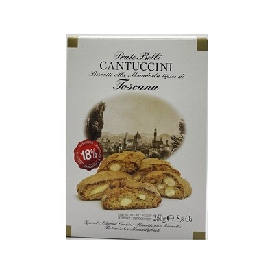 Cantuccini Almond Biscotti Cookies Italy 8.8oz