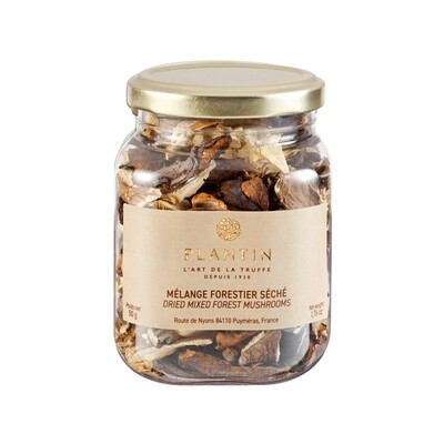 Plantin Dried Mixed Forest Mushrooms France 1.76oz