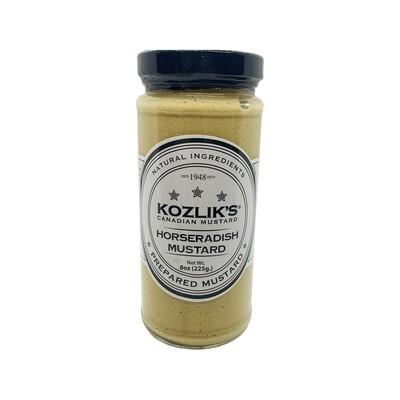 Kozlik's Horseradish Mustard Canada 8oz