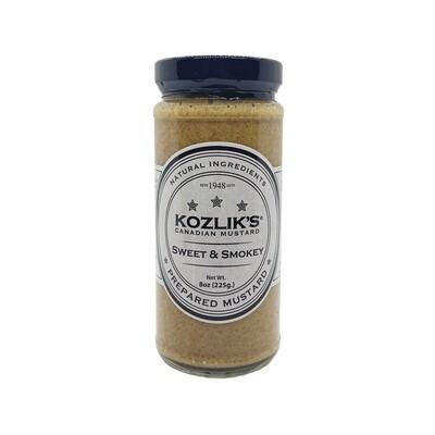 Kozlik's Sweet & Smokey Mustard Canada 8oz